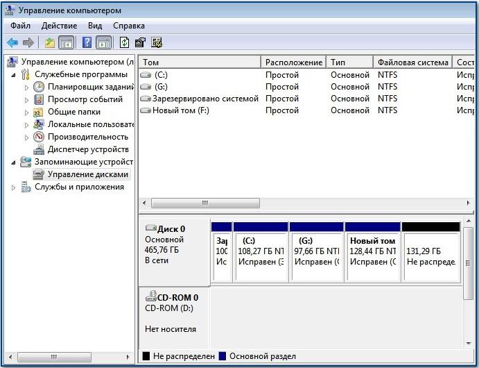 Как создать раздел жесткого диска в windows 81